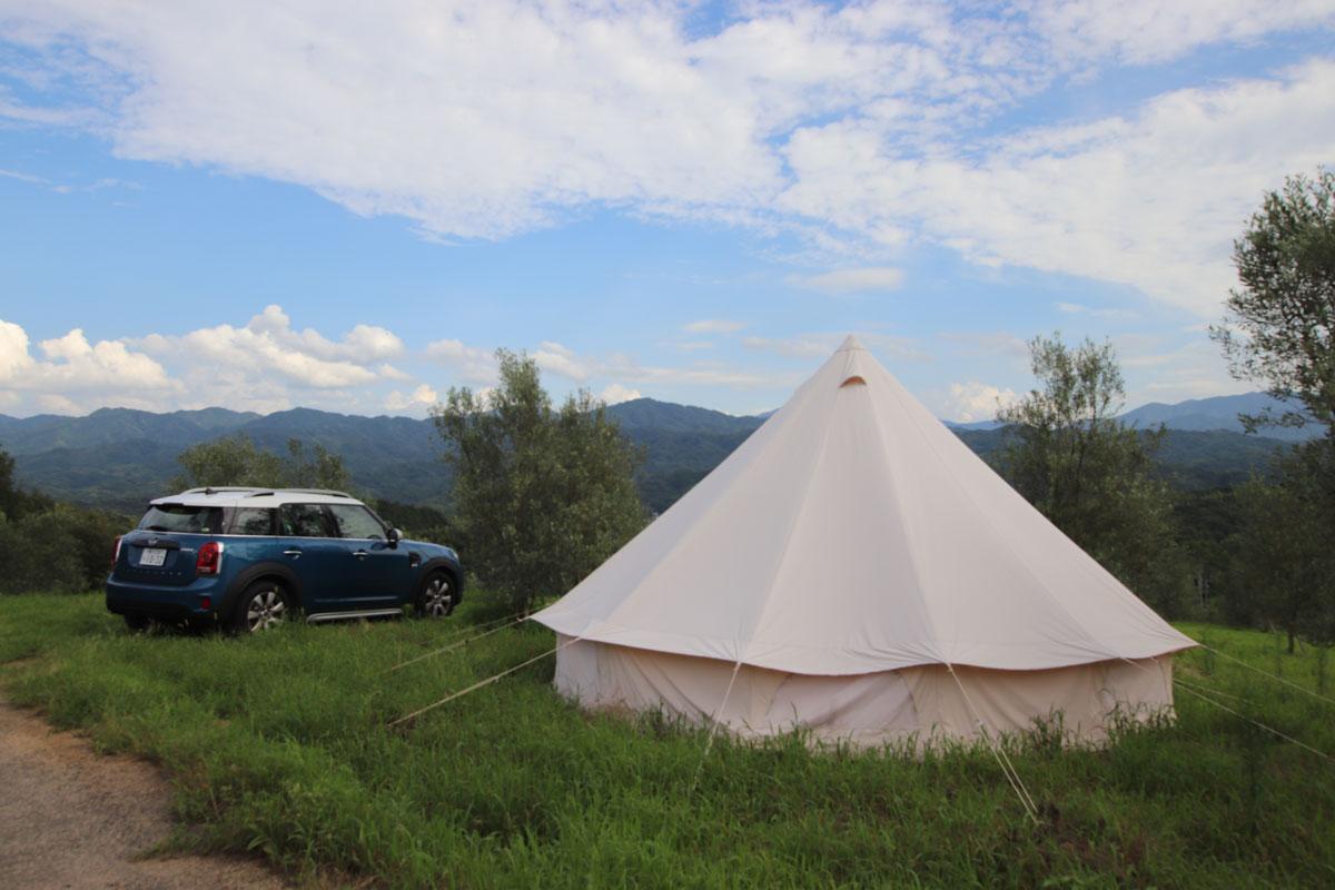 oliveto oki キャンプ